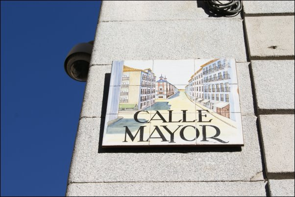 Calle Mayor de Madrid