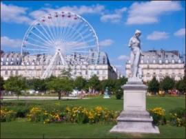 El Jardín de las Tullerías de París