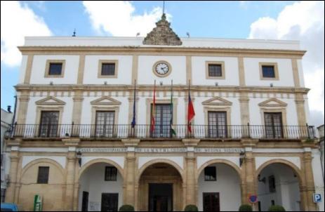 El Ayuntamiento de Medina Sidonia.