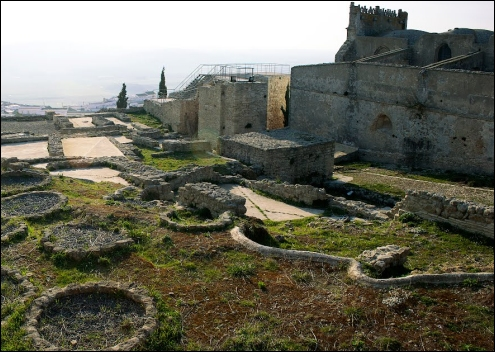 """El Conjunto Arqueológico """"Cerro del Castillo""""."""