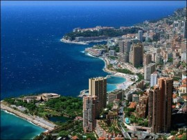 Panorámica general del Principado de Mónaco