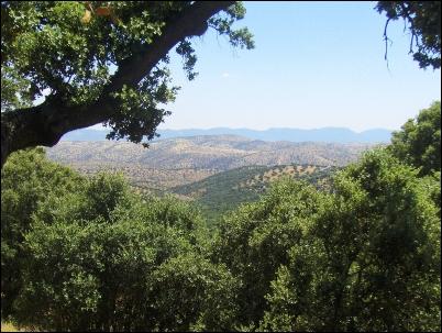 Impresionante imagen del Valle del Guadiato