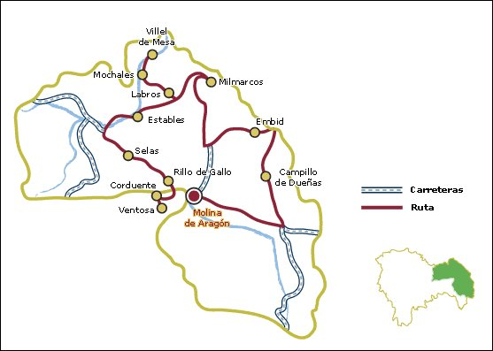 Ruta por los pueblos del Señorío de Molina