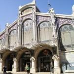 La fachada del Mercado Central. Valencia