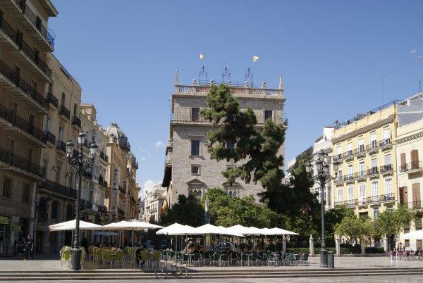 El Palacio de la Generalitat. Valencia