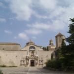 El Monasterio de Poblet - Exterior de la Iglesia