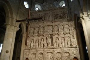 El Monasterio de Poblet - Retablo de la Iglesia