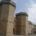 El Monasterio de Poblet - Puerta Real y la Iglesia
