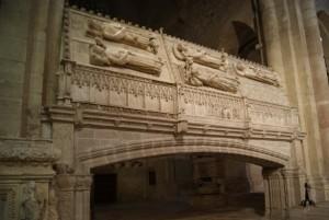 El Monasterio de Poblet - Sepulcros reales de la Corona de Aragón