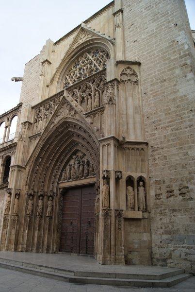 La Puerta de los Apóstoles. Valencia