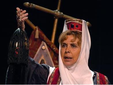 """""""Yo, Leonor de Aquitania"""" en el Teatro Quevedo"""