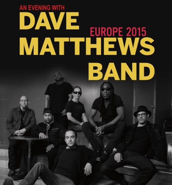 Dave Matthews Band actuará el 12 de octubre en Madrid