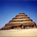 La impresionante Pirámide del Rey Zoser.
