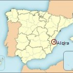 Mapa de situación de Alzira