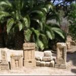 El Santuario de Tophet, cubierto de estelas