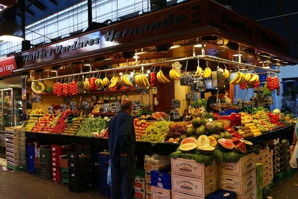 Barcelona a través de sus mercados