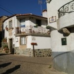 Penha Garcia es un pueblo típico portugués