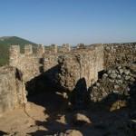 Interior del Castillo Templario de Penha Garcia