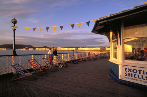 Al norte de Gales, la animada localidad costera de Llandudno