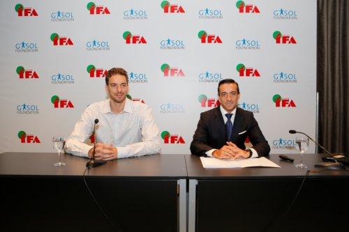 El Grupo IFA y la Fundación Gasol se unen para promover hábitos de vida saludable