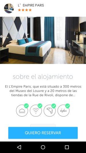 Llega Booking Now para Android, la aplicación de los viajes espontáneos