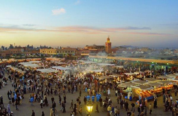 Marrakech, la Ciudad de los Cuatro Colores