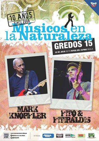 """X aniversario de """"Músicos en la Naturaleza"""" en Gredos con la presencia de Mark Knopfler"""