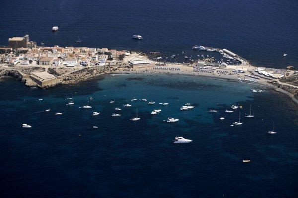 Tabarca, la única isla habitada de la Comunidad Valenciana