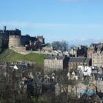 Edimburgo, con el Castillo al fondo