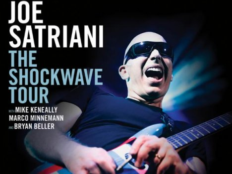 "Joe Satriani presenta en España ""Shockwave Supernova"""