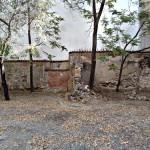 Lienzo de muralla árabe en la calle del Almendro