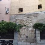 Restos de muralla en la calle de mancebos