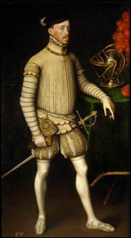 Antonio Moro. El emperador Maximiliano II. Sala 56 del Museo del Prado