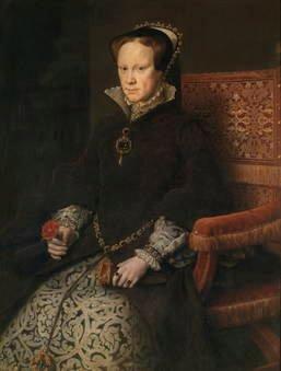 Antonio Moro. María Tudor, reina de Inglaterra, segunda mujer de Felipe II. Sala 56 del Museo del Prado