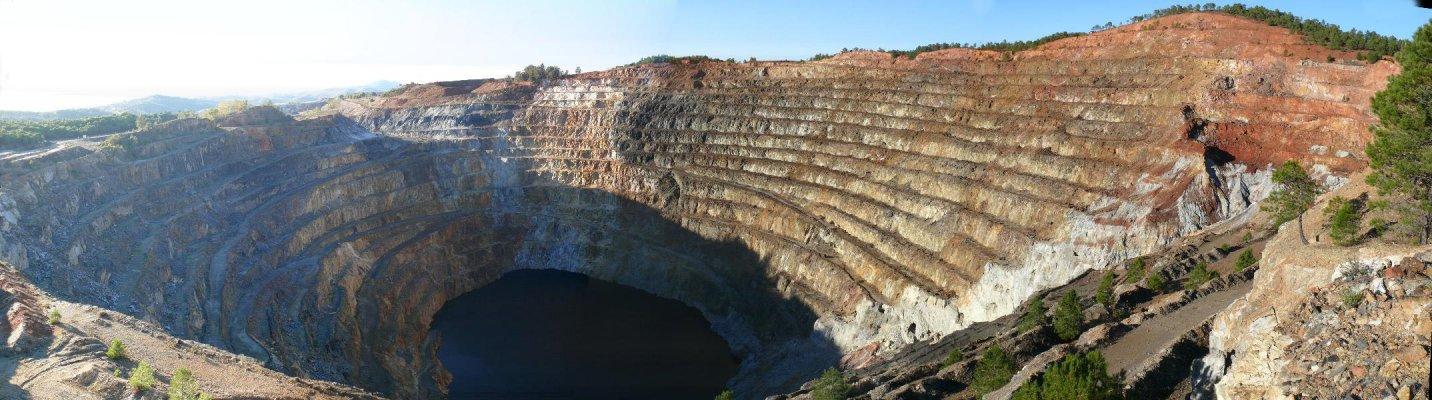 El Parque Minero de Riotinto es el primero de sus características en España