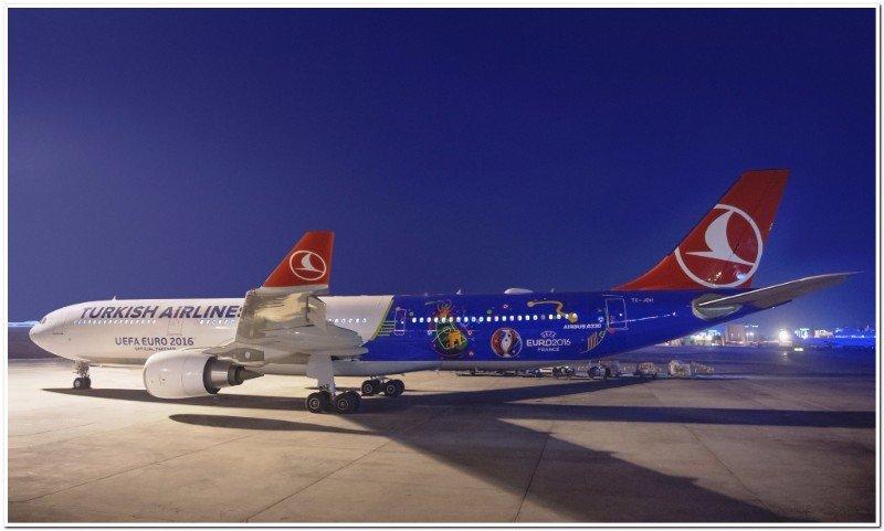 Turkish Airlines, la aerolínea oficial de la UEFA EURO 2016TM