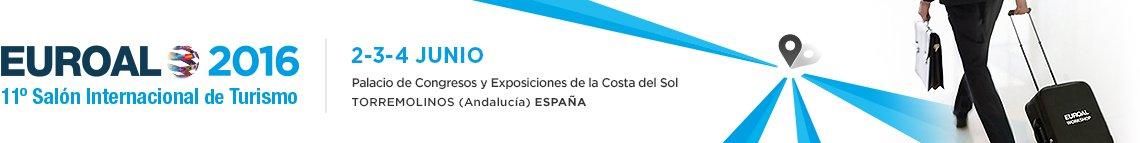 11 Sal�n internacional de Turismo EUROAL (Torremolinos-Costa del Sol/Espa�a), del 2 al 4 de junio
