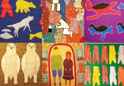 """Arte y cultura inuit en la exposición """"Los colores del Ártico"""""""