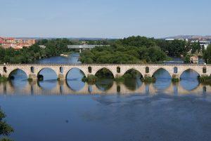 El Duero a su paso por Zamora