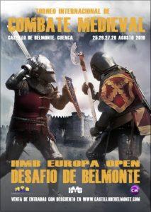 Cartel del II Torneo Internacional de Combate Medieval