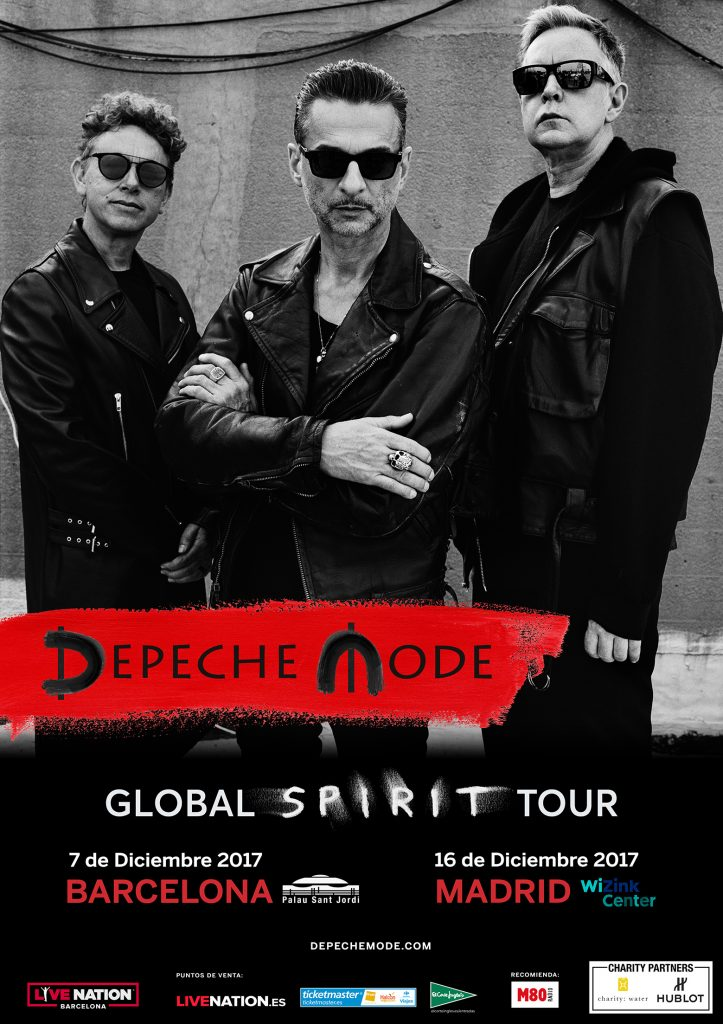 Depeche Mode actuarán en Madrid y Barcelona