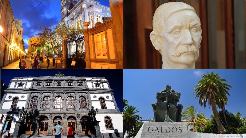 Las Palmas de Gran Canaria, la ciudad natal de Benito Pérez Galdós