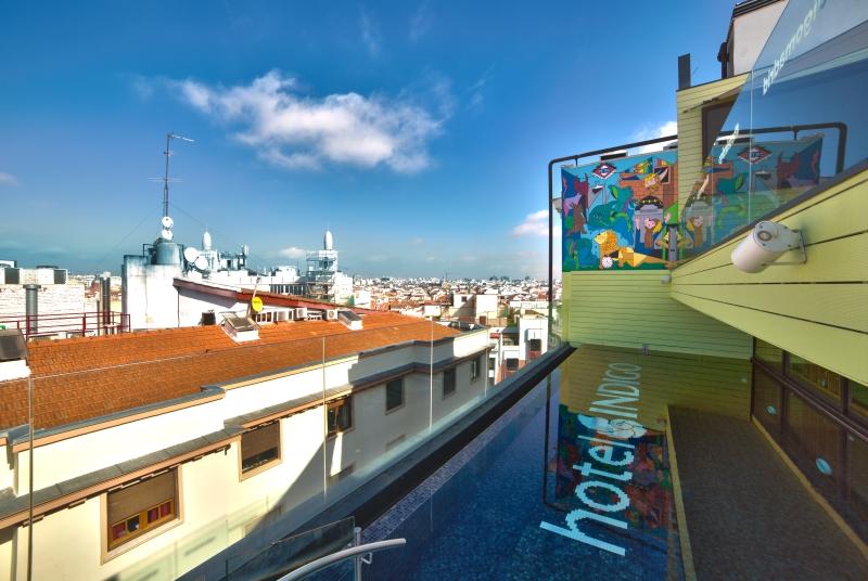 El mejor ocio de Madrid en la terraza del Hotel Indigo Madrid Gran Vía