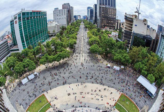 Ciudad de México en bicicleta, una experiencia inolvidable