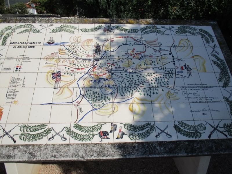 Placa conmemorativa de la batalla de Vimeiro