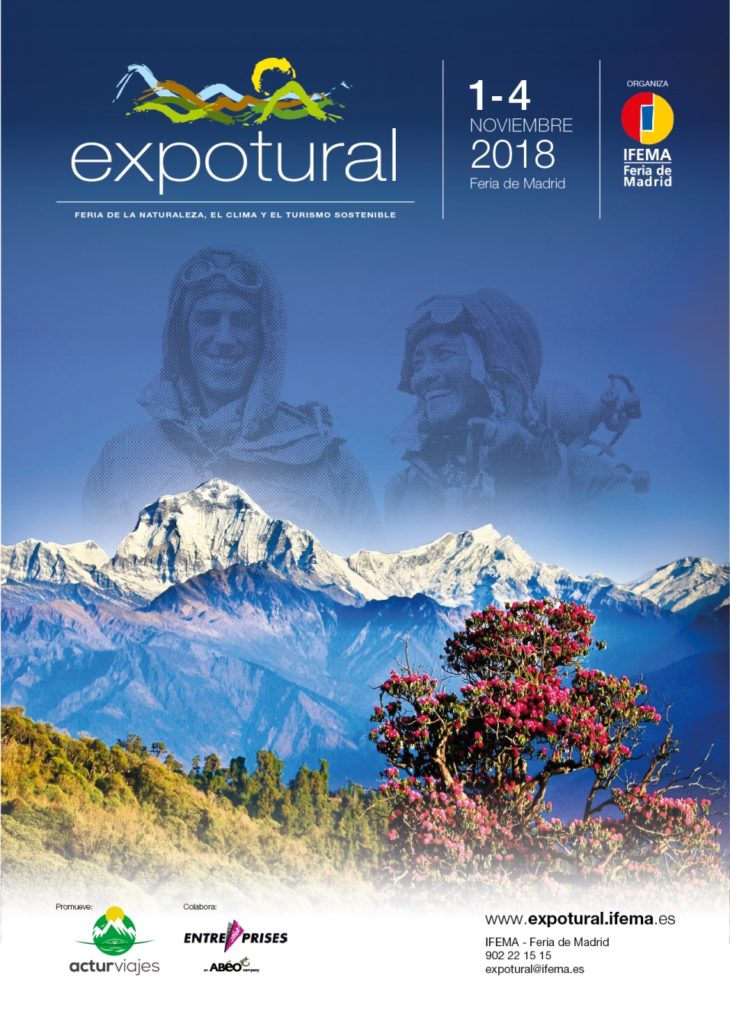 Expotural 2018, la mayor oferta en España de turismo de naturaleza y deportes de montaña