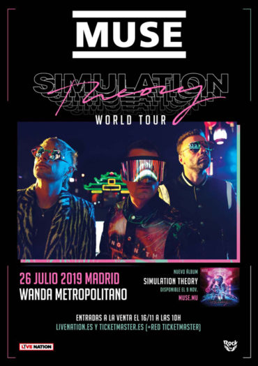 MUSE traerá a Madrid su Simulation Theory World Tour