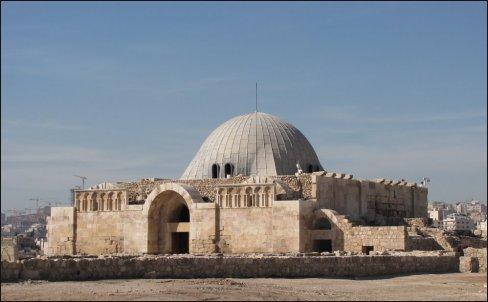 El Palacio Omeya, en la Ciudadela.