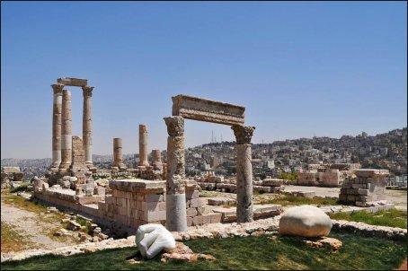 Ruinas del Templo de Hércules de la Ciudadela.