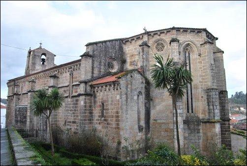 La Iglesia de Santa María de Azogue, en Betanzos